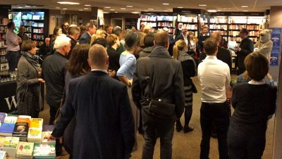 "The glorious myth of the ""book launch"""