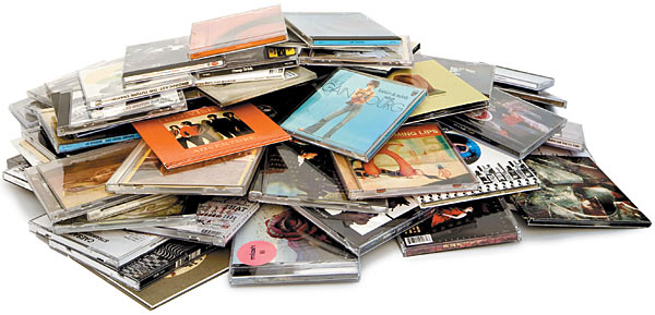 Pile-of-CDs